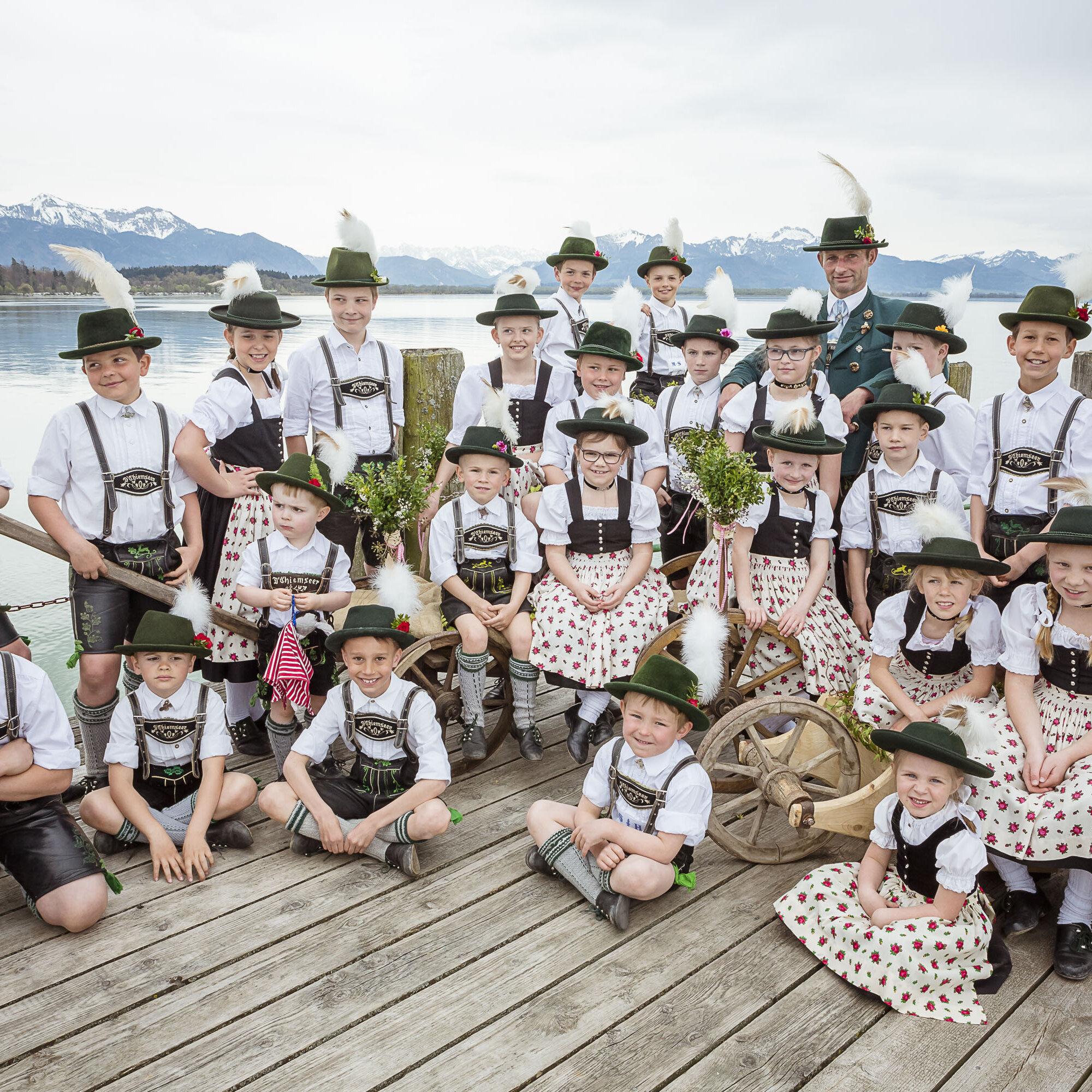 Trachtenfest zum 100-jährigen Bestehen GTEV Chiemseer Kreisbauerntag