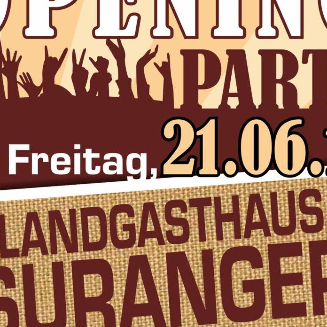 Biergarten Opening Party – Landgasthaus Suranger