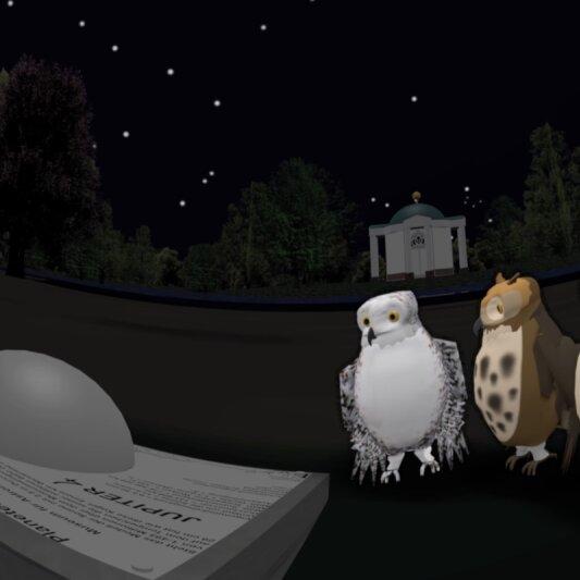 Nachteulen III: Der Planetenwanderweg
