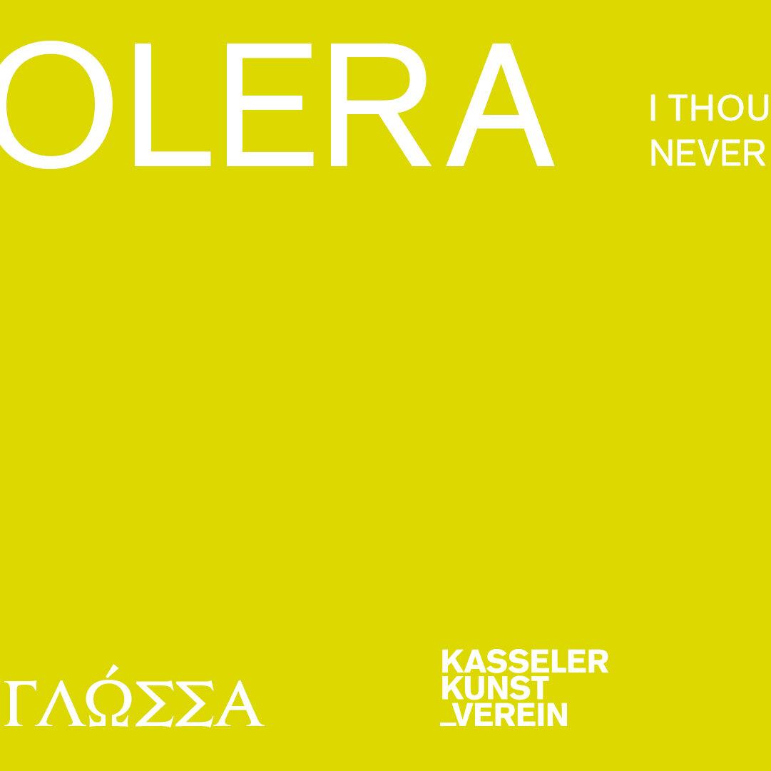 CHOLERA - I THOUGHT I SHOULD NEVER SPEAK AGAIN