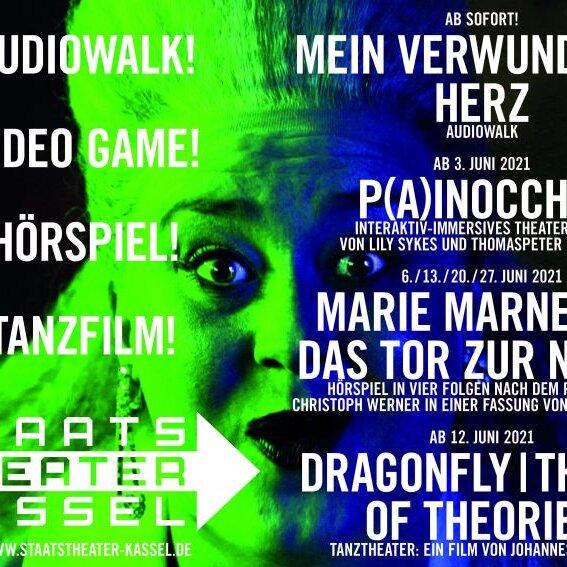 Digitales Programm des Staatstheaters Kassel