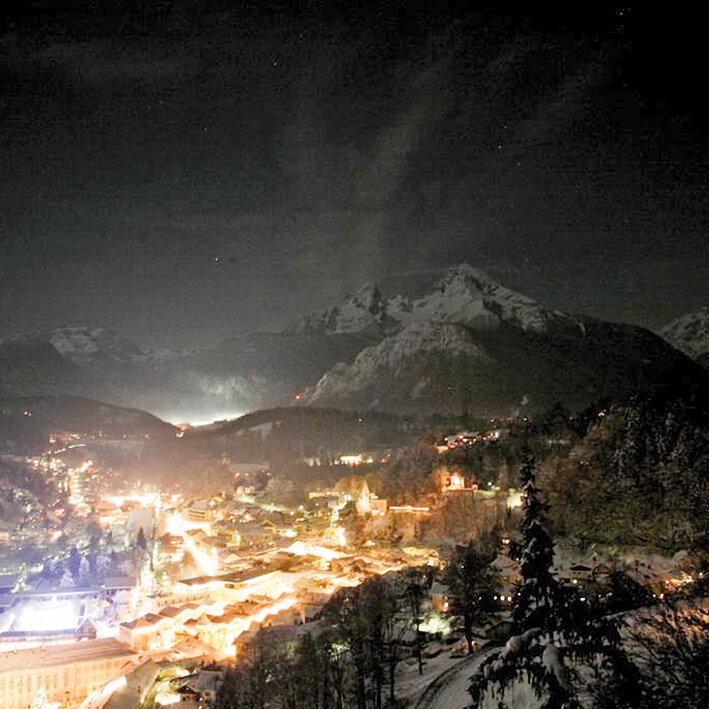 Winterliche Abendwanderung Rossfeld