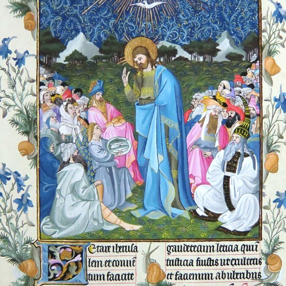 Mittelalterliche Buchmalerei - Miniaturmalerei