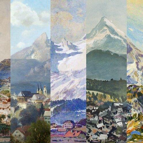 "Ausstellung ""Der Blick auf Berchtesgaden"""