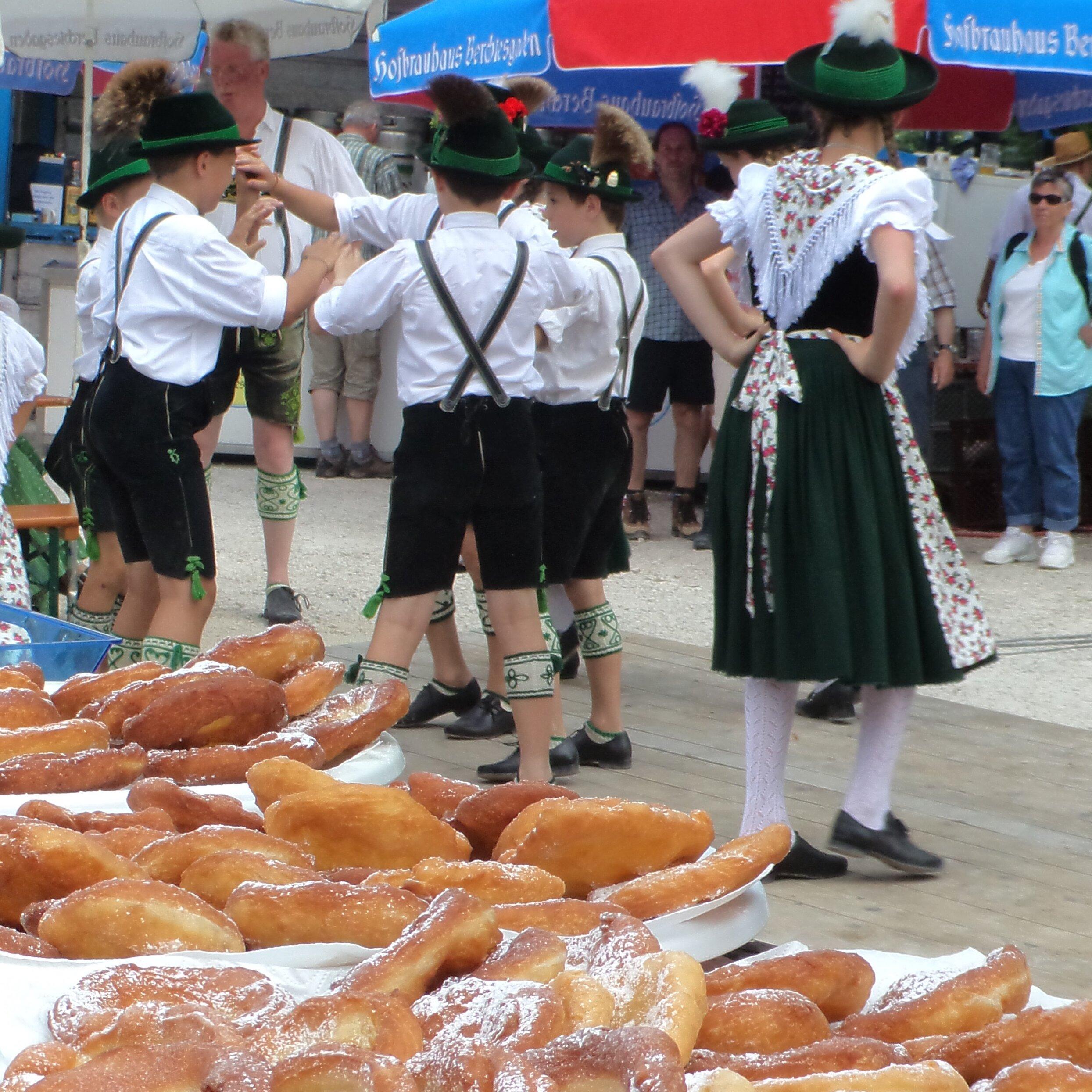 Dorffest am Vereinskaser