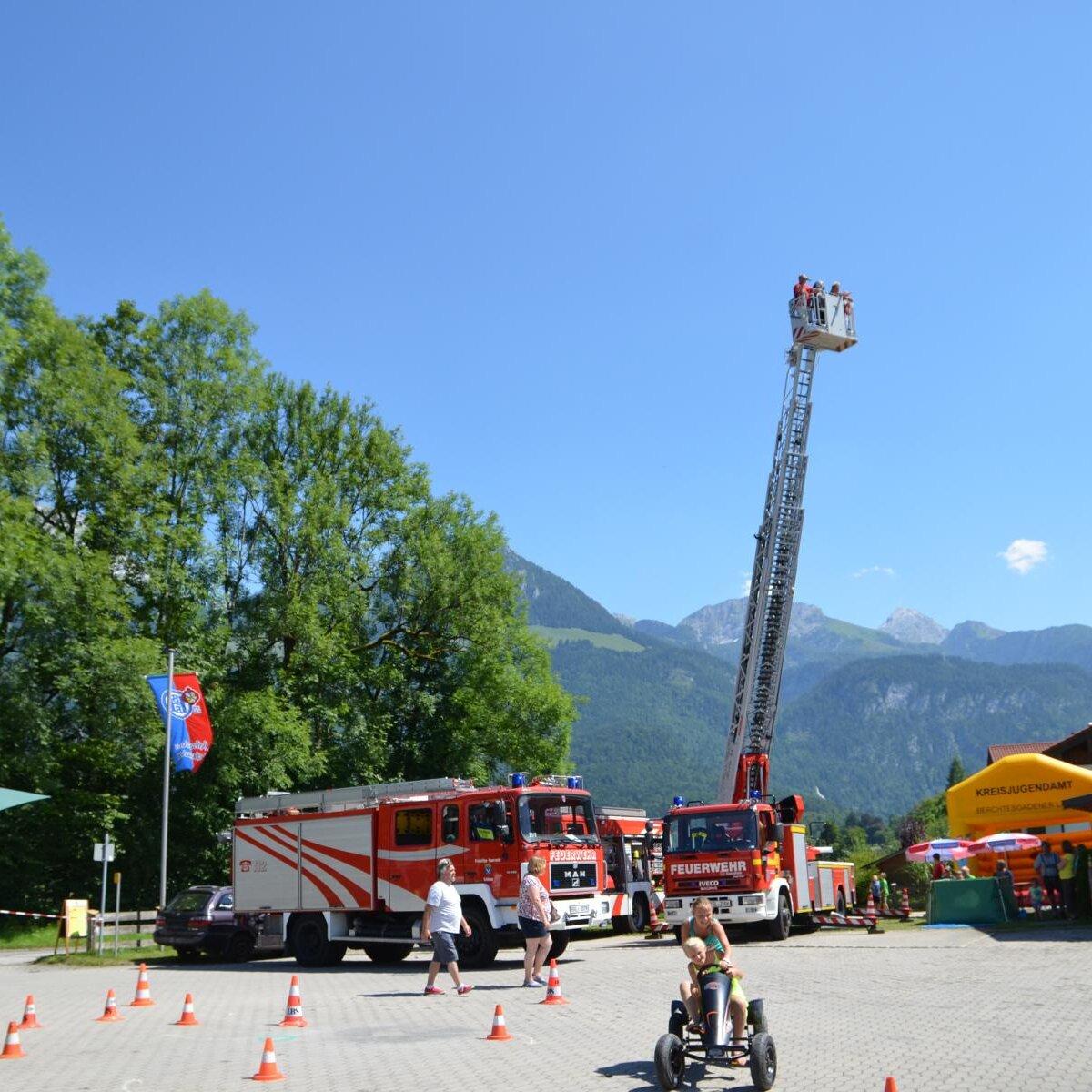 Sommerfest der Freiwilligen Feuerwehr Schönau