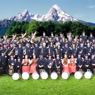 Standkonzert mit der Freiwilligen Feuerwehr Königssee im Ferien- und Aktivhotel Hubertus