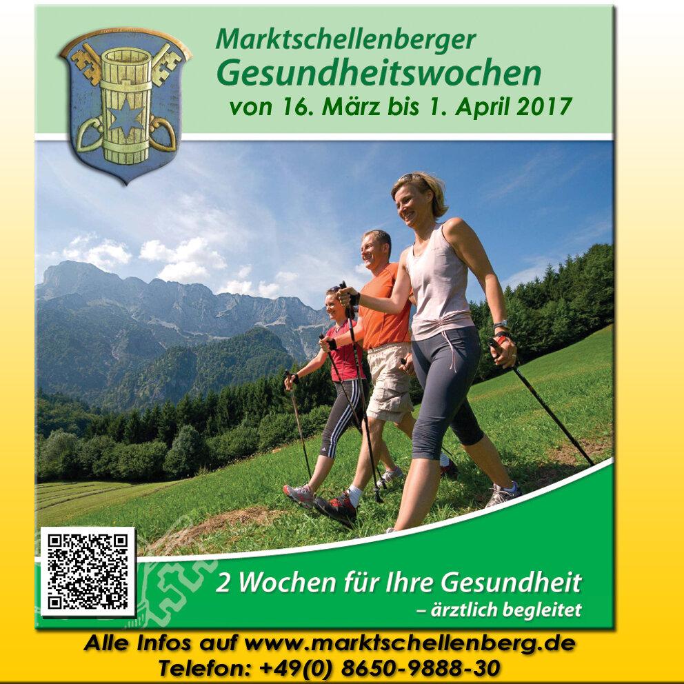 Marktschellenberger Gesundheitswochen Frühjahr 2017