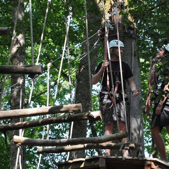 "Hochseilgarten ""Rope Adventure 1"""