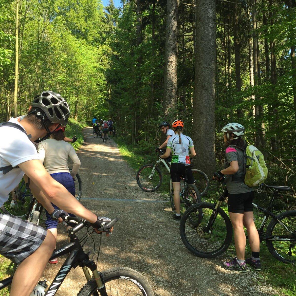 Geführte Mountainbike-Tour in die Chiemgauer Berge