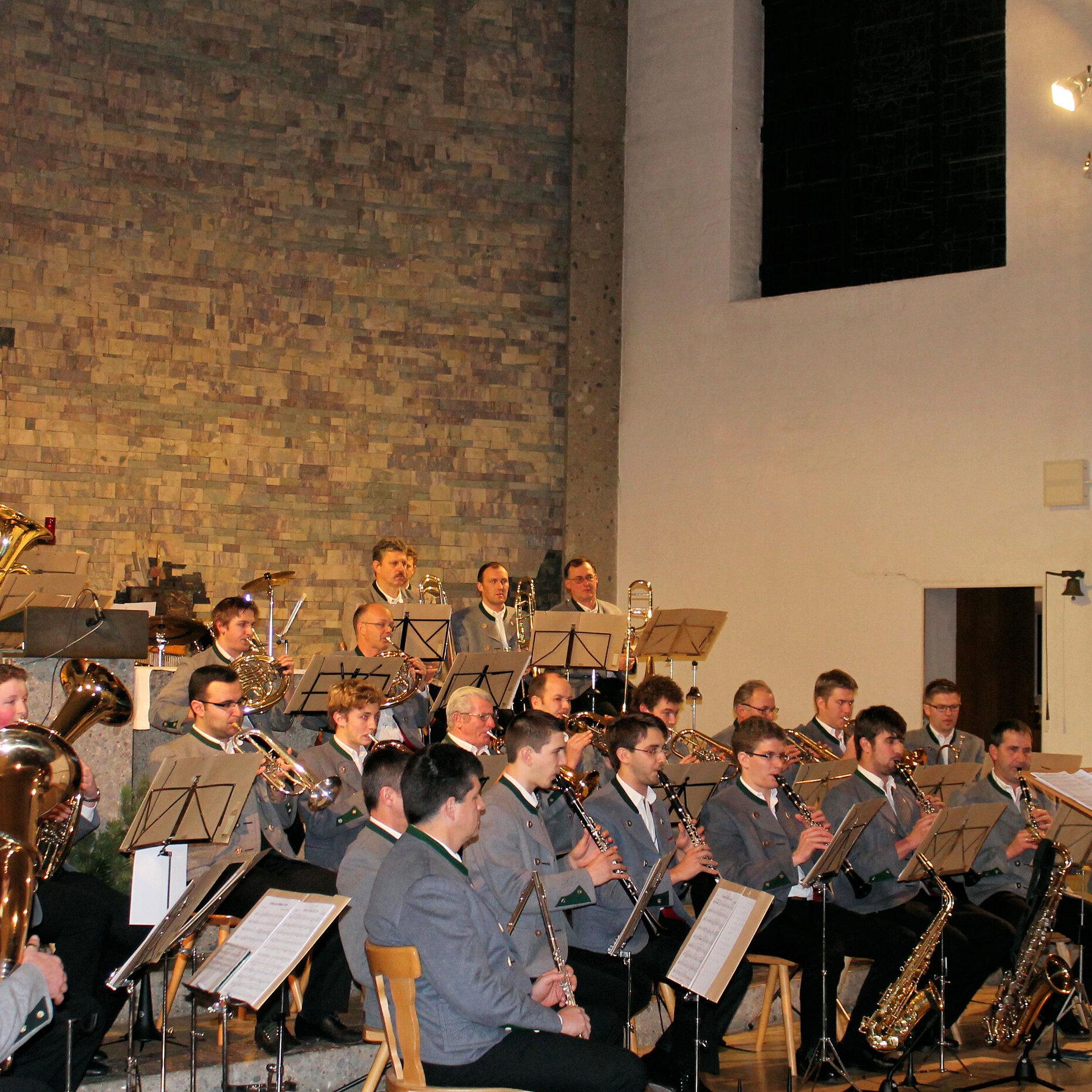 Weihnachtskonzert mit der Musikkapelle Bad Feilnbach