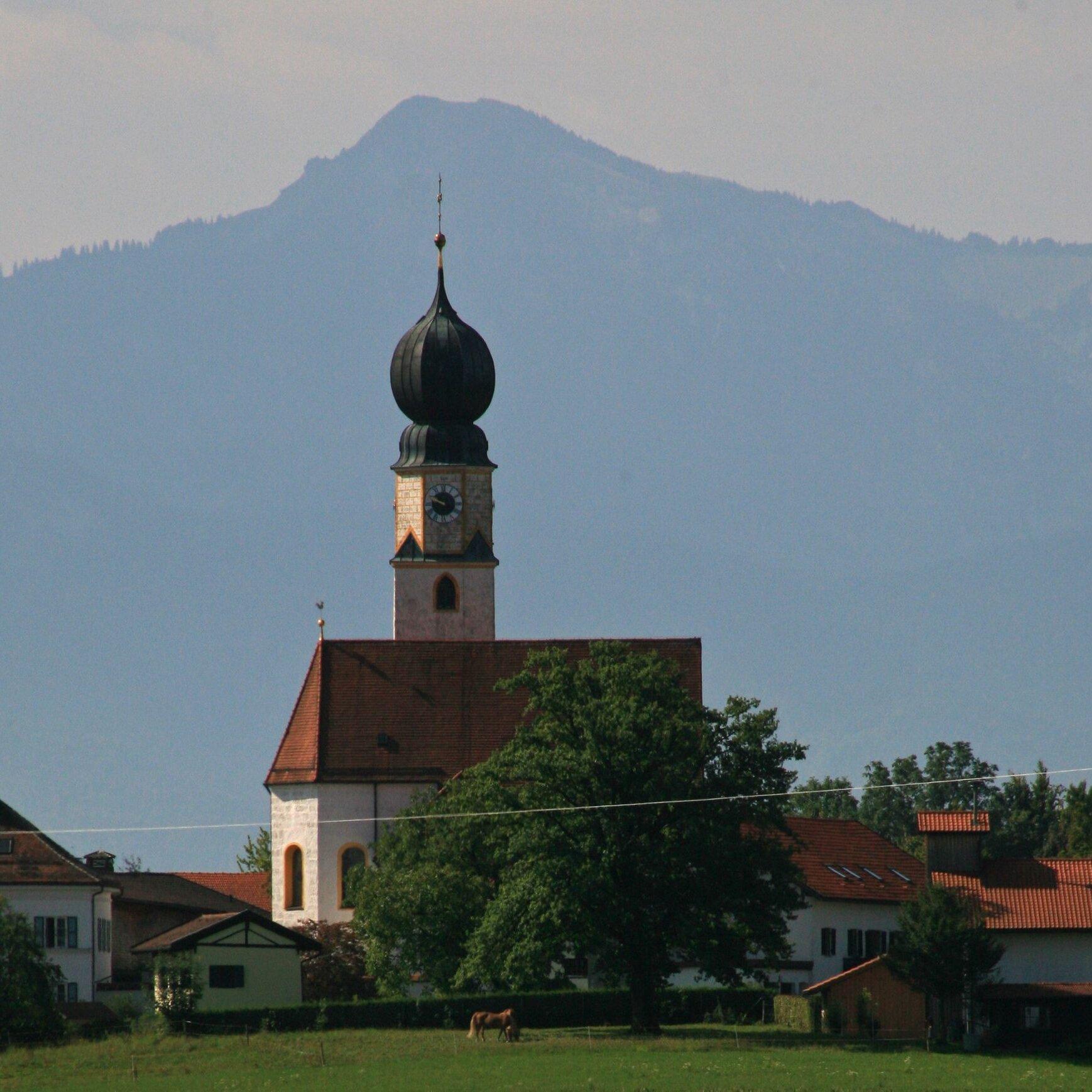 Führung durch die Wallfahrtskirche Mariä Himmelfahrt in Ising