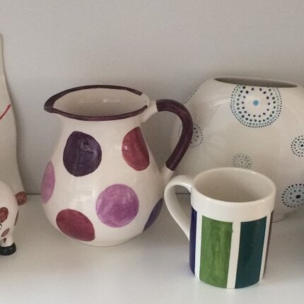Einführung in die Keramikmalerei