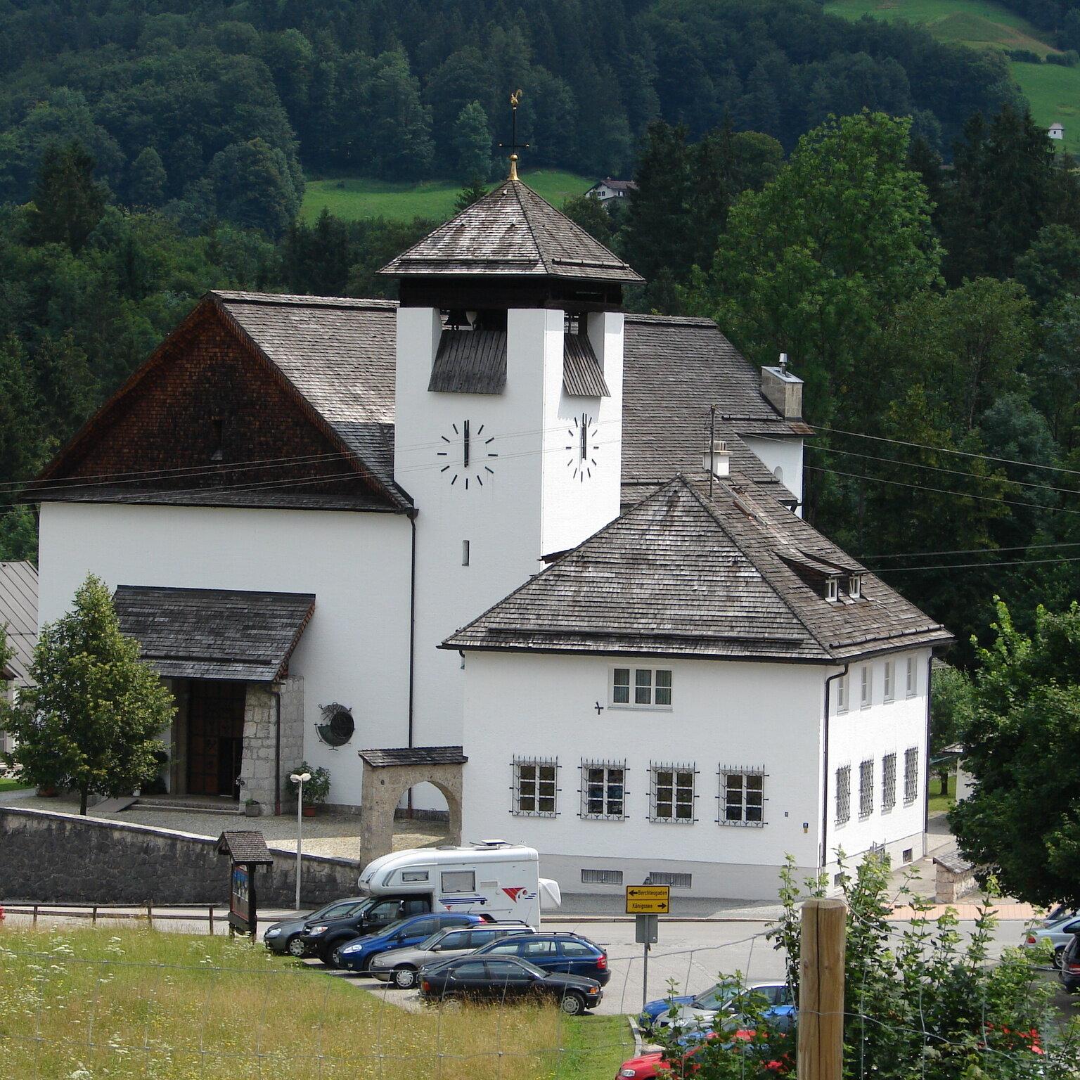 Kreuzwegandacht in der Kirche Unterstein