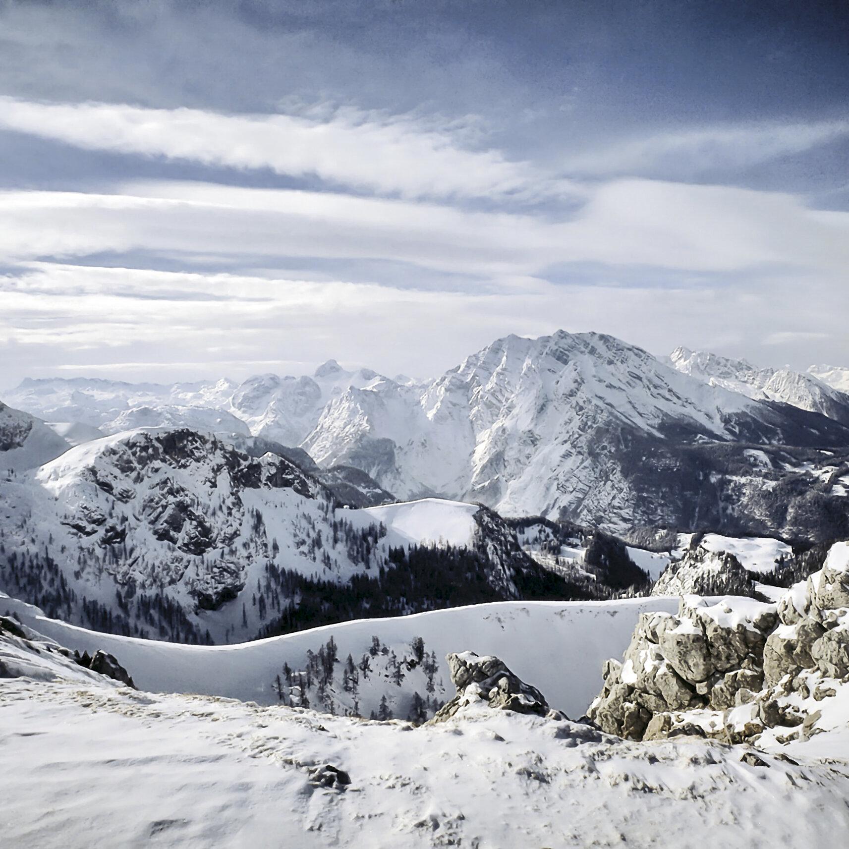 Heilklimatische Schneeschuhwanderung - Oberau