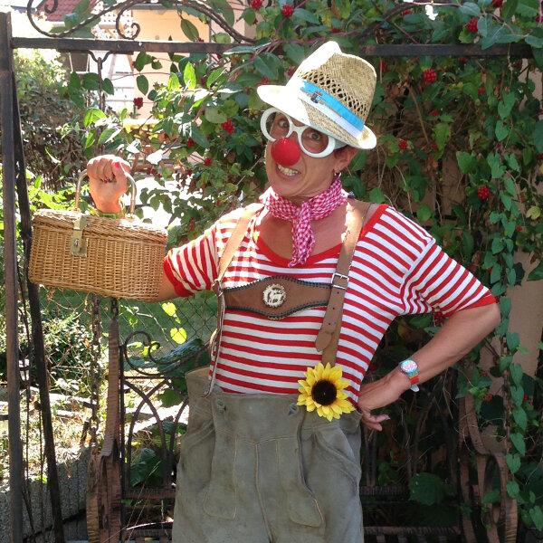 Sommer, Sonne, Spaßprogramm mit Zauberclown Manu