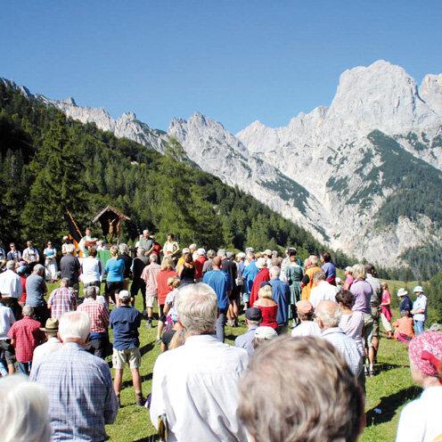 Gottesdienste im Freien - Hirschkaser