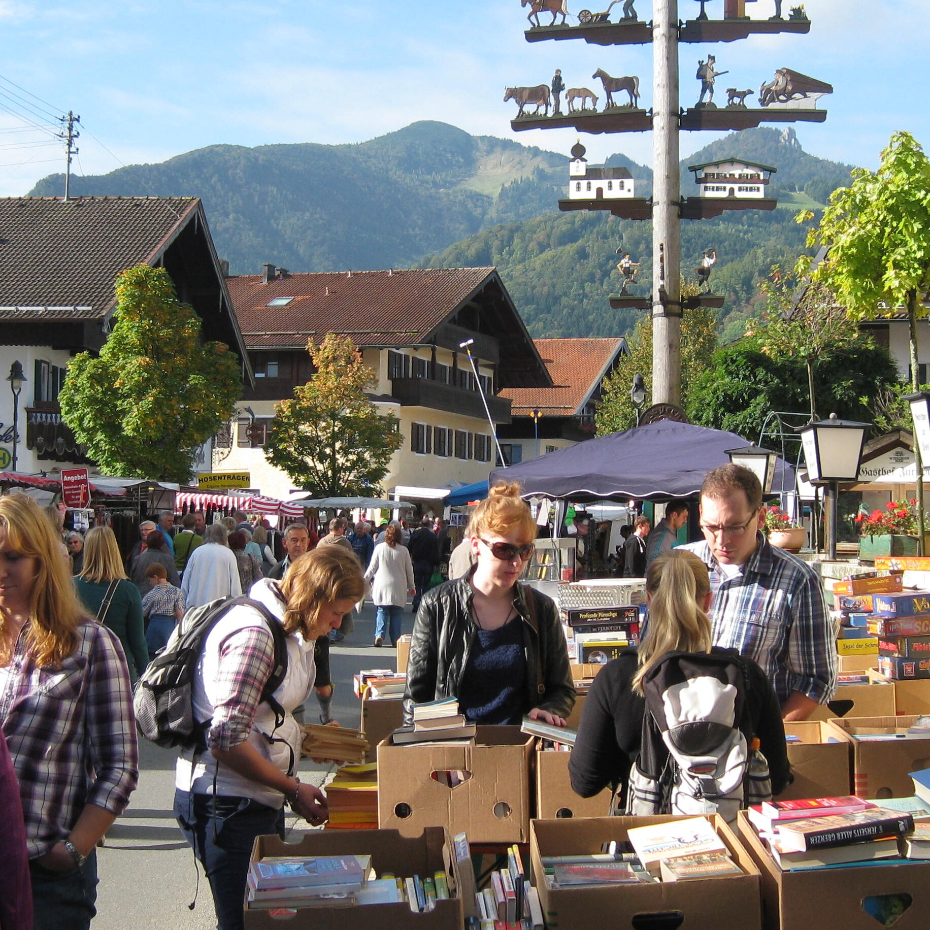 Michaeli-Markt in der Ortsmitte von 8 bis 18 Uhr
