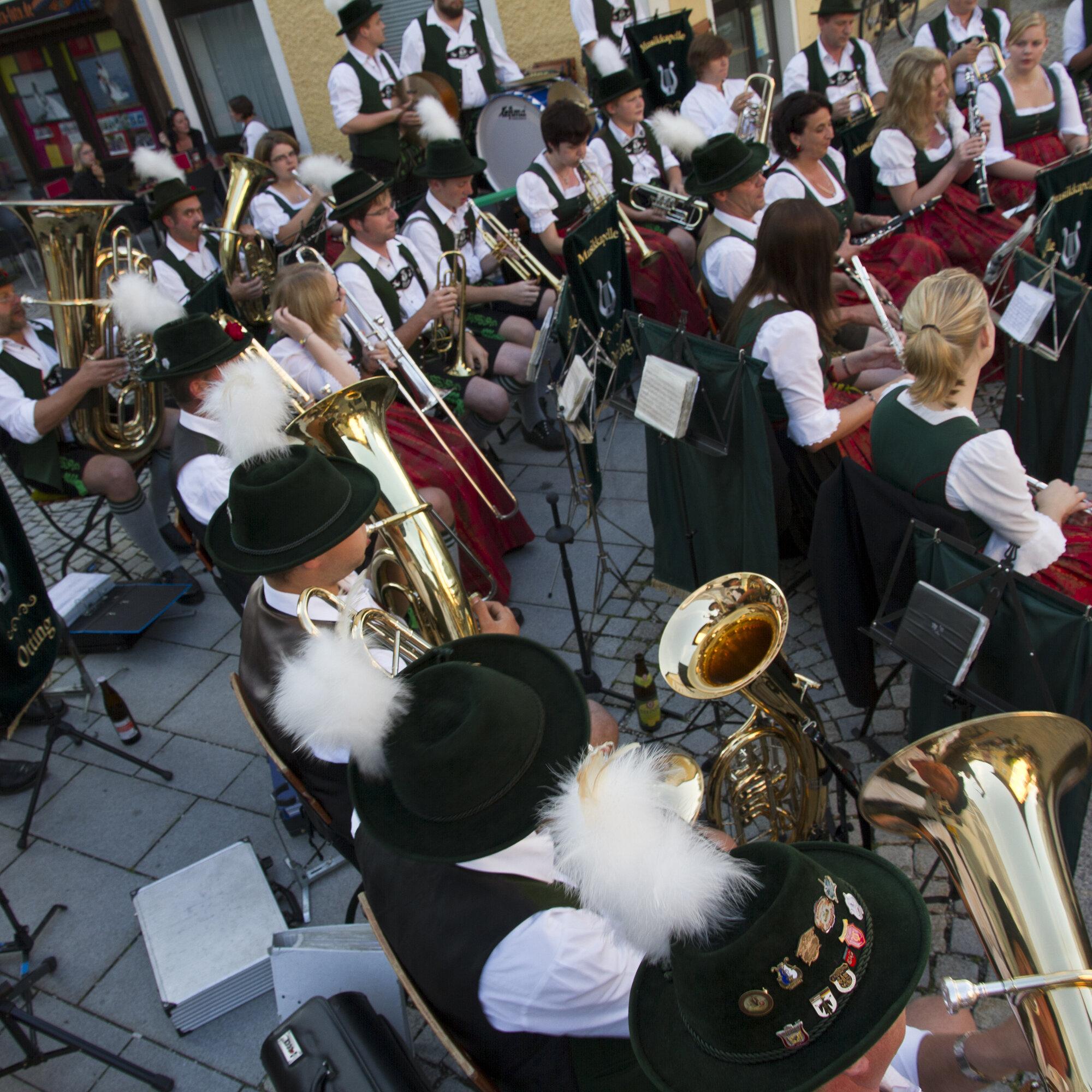 Montagskonzert der Musikkapelle Waging