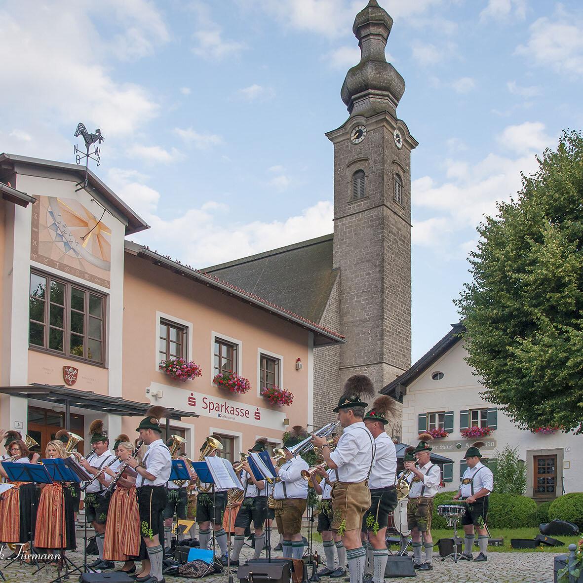 Standkonzert der Trachtenkapelle Anger-Höglwörth