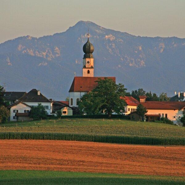 Führung durch die Wallfahrtskirche Maria Himmelfahrt in Ising