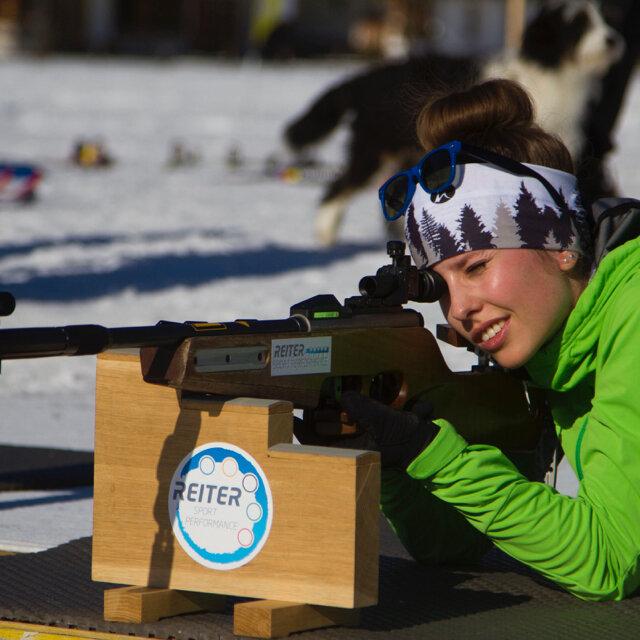 Biathlonschießen