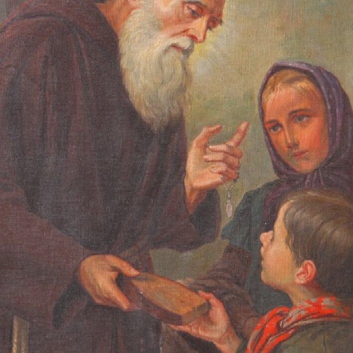 Ausstellung: Bruder Konrad - Geburt und Taufe
