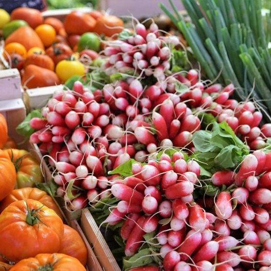 Wochenmarkt in Borken