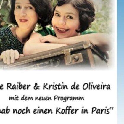 ABGESAGT!!! Rathauskonzert mit Pfeffer und Likör Ich hab noch einen Koffer in Paris