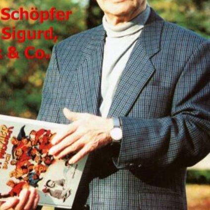 Ausstellung Handrudi Wäscher - Der Schöpfer von Sigurd, Nick & Co