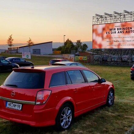 Autokino und Konzerte in der Hessentagsarena