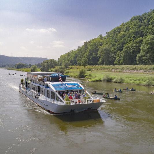 Rundfahrten mit dem Weserschiff Hessen (Hauptsaison)
