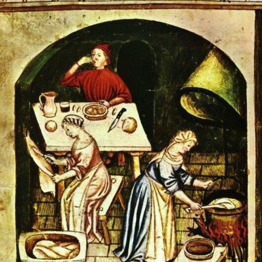Wanderausstellung Hirsebrei und Rittermahl - Esskultur im Mittelalter