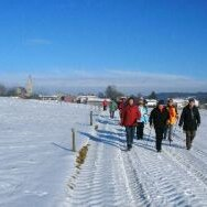 Winterwanderung,  mit Hr. Brüderl - Rund um Bad Endorf