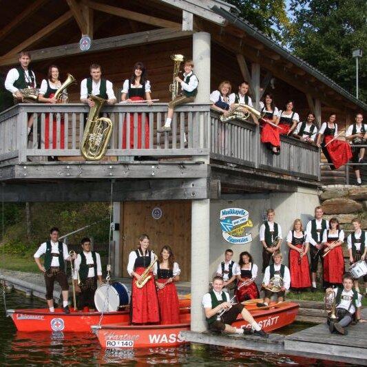 Schloss-Frühschoppen mit der Musikkapelle Eggstätt