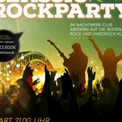 Ü40 Classic-Rockparty im Nachtwerkclub mit DJ Jeremy Heart!