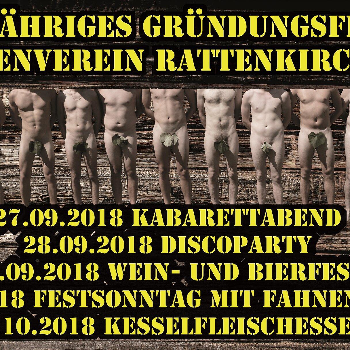 Fünf Jahre Burschenverein Rattenkirchen