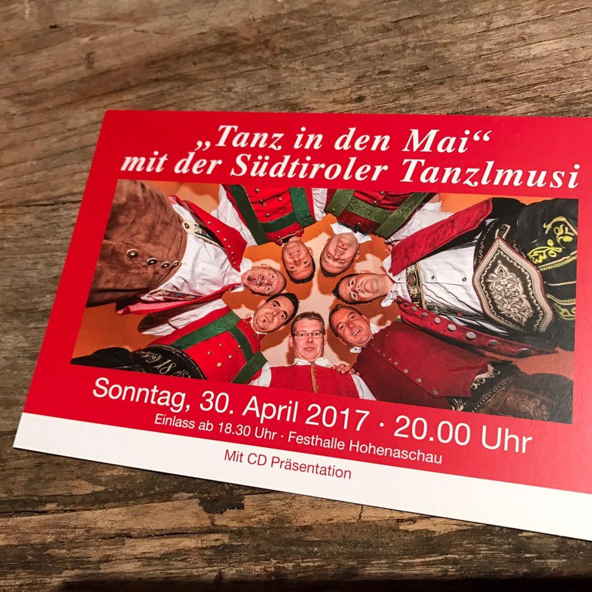 Tanz in den Mai mit der Südtiroler Tanzlmusig