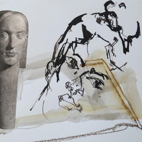 Ausstellung:Jutta Mayr mit Hannes Stellner