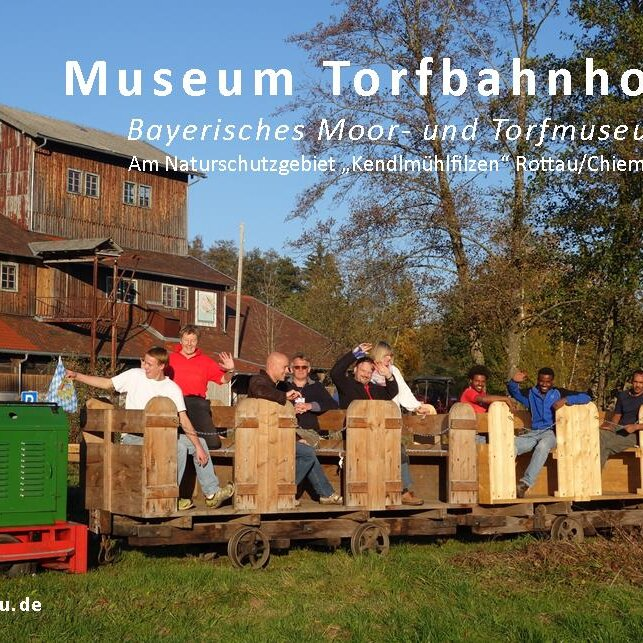 Bayerisches Moor- und Torfmuseum, Torfbahnhof Rottau