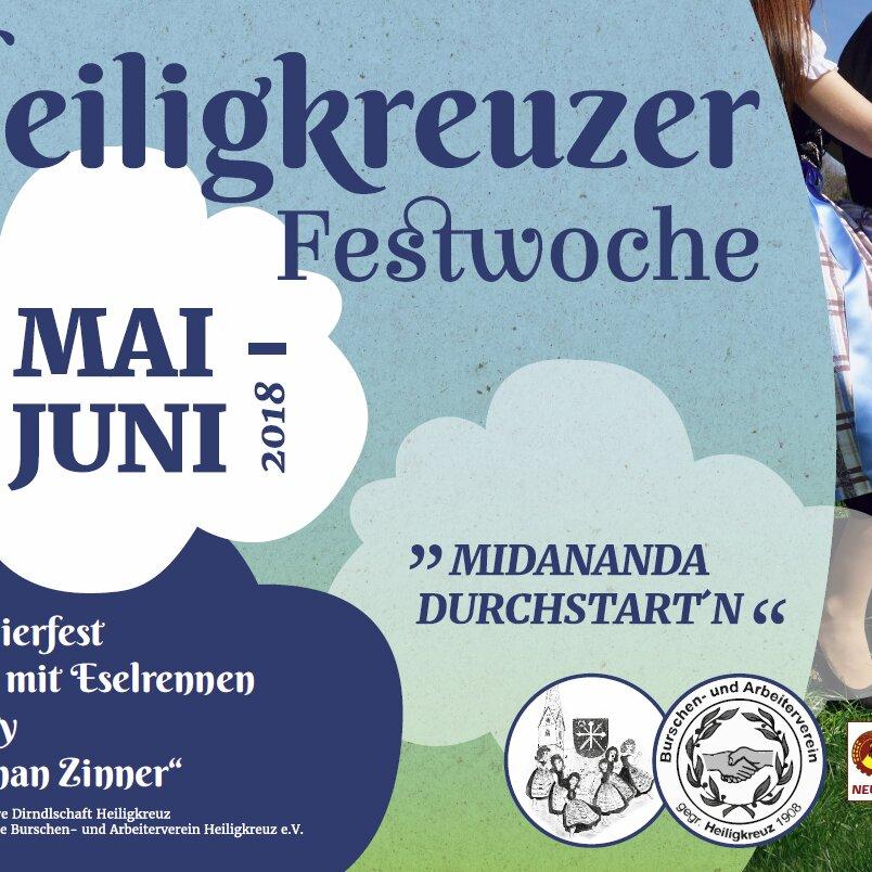 80er-90er-PARTY im FESTZELT HEILIGKREUZ
