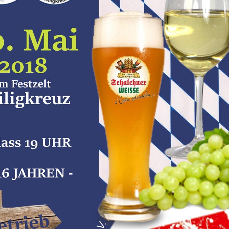 Wein- & Weißbierfest im FESTZELT HEILIGKREUZ