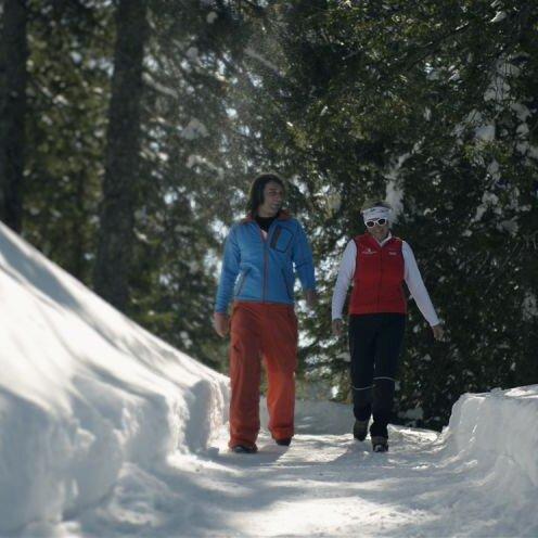 Wandern zum Aussichtspunkt Wolfschwang