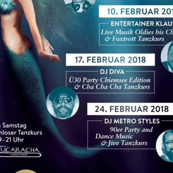 90er Party and Dance Music & Jive Tanzkurs