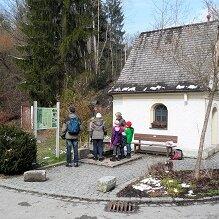Wanderung von Prutting nach Rosenheim mit Angela Kind