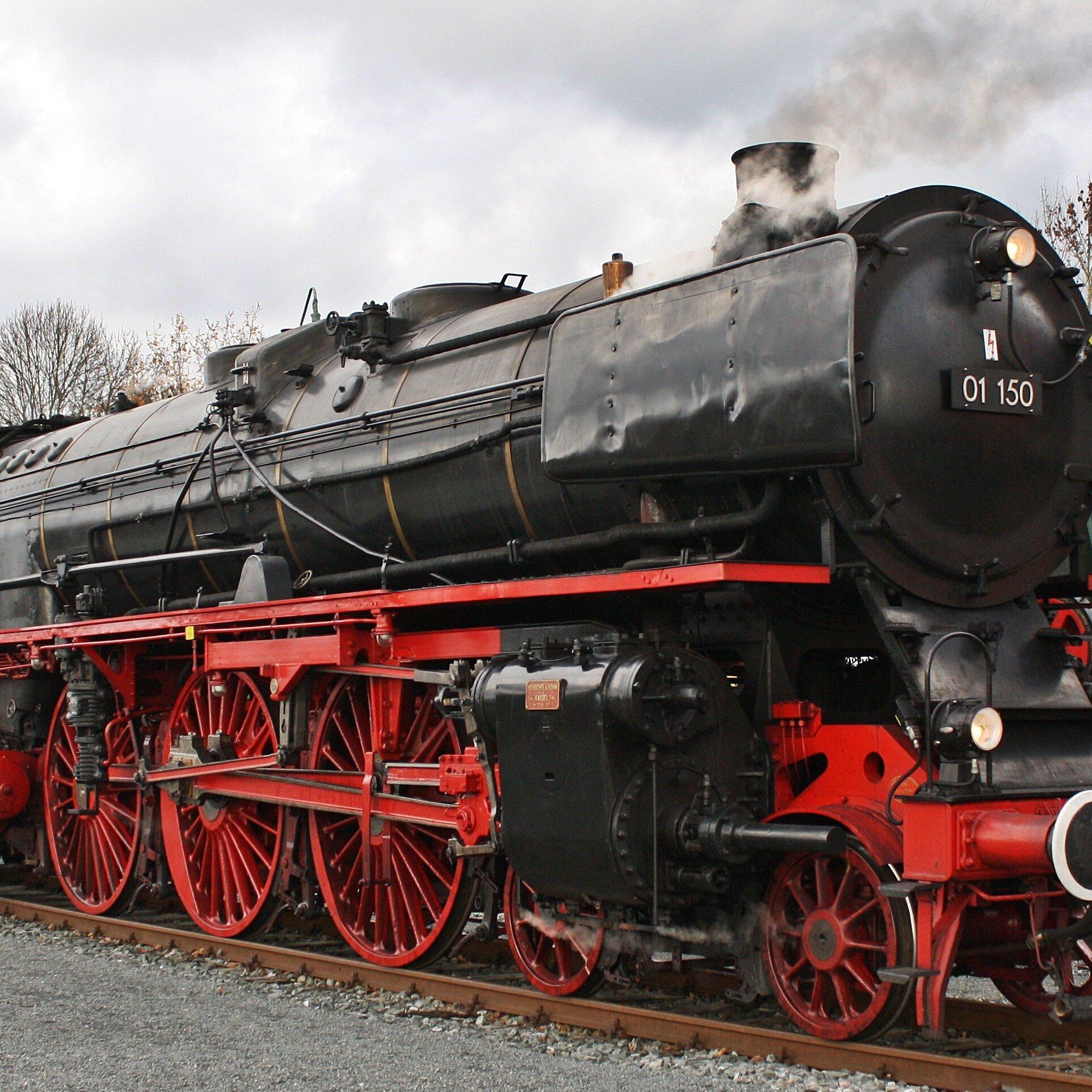 Dampfsonderzug zur Landesgartenschau nach Würzburg