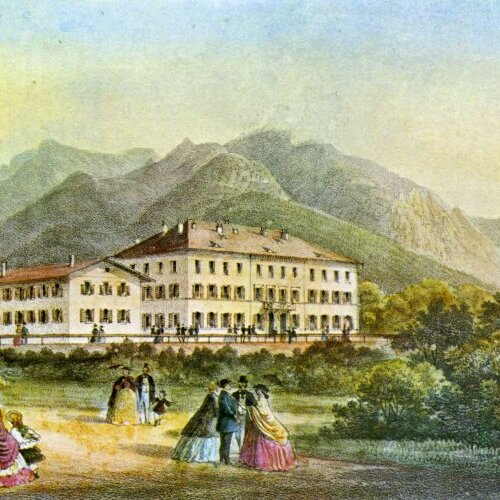 Historische Führung im Garten der Heilung