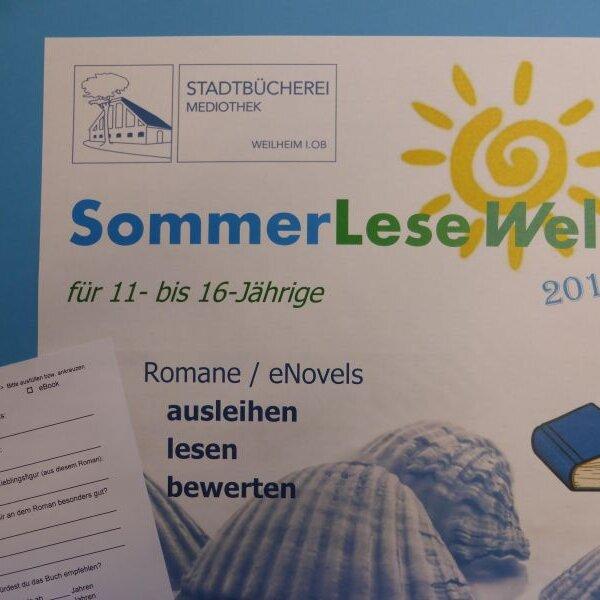"""Ferienprogramm - Gewinnchance """"SommerLeseWelt"""" für 11- bis 16-Jährige"""