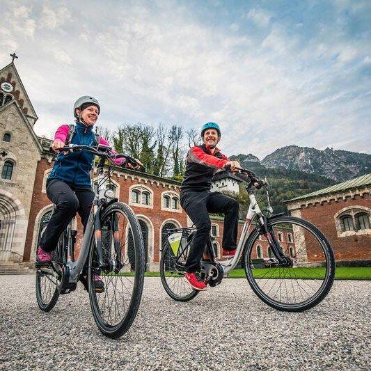 Fahrradtour ins Bad Reichenhaller Umland oder nach Salzburg