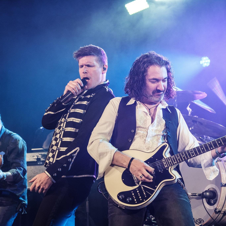 """WE ROCK-Queen """"Best of Queen – the show goes on!"""""""
